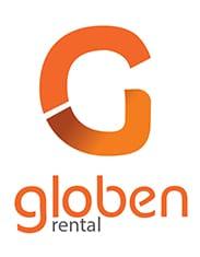 Oud logo van Globen Rental