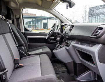 Binnenkant van de Peugeot Expert