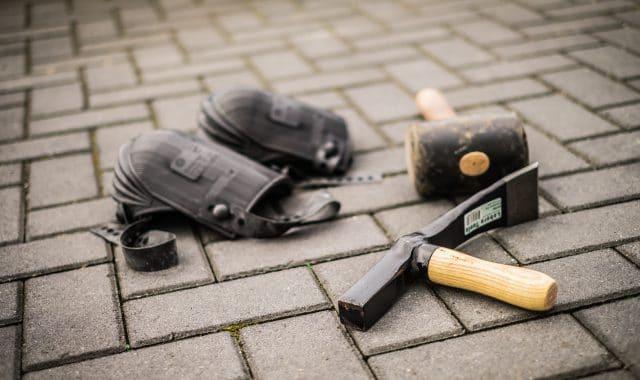 De algemene spullen van de stratenmakersset